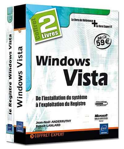 Windows Vista : de l'installation du système à l'exploitation du registre