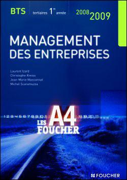 Management Des Entreprises Bts 1 Ed 2008-2009