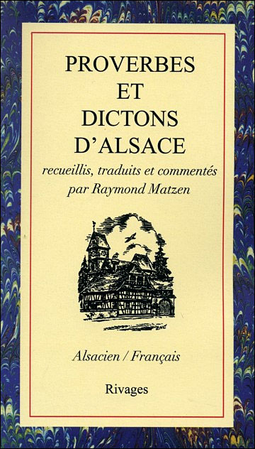 Proverbes et dictons d'Alsace