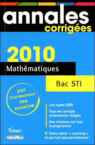 Mathématiques Bac série STI