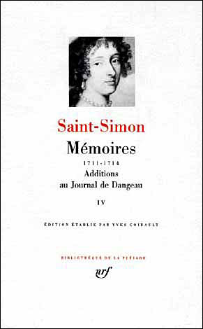 Mémoires / Additions au Journal de Dangeau (Tome 4)