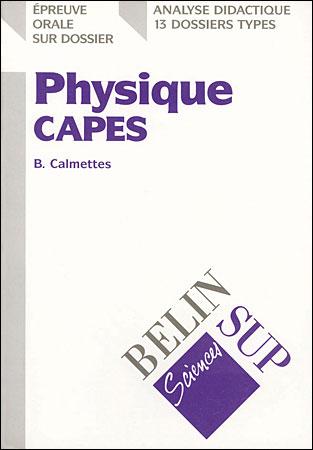 Physique CAPES