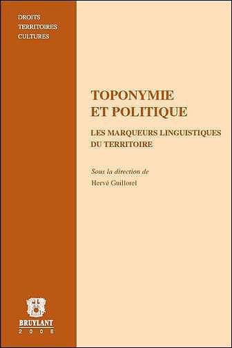 Toponymie et politique