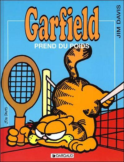 Garfield prend du poids