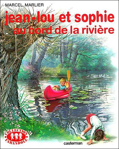 Couverture de Jean lou et sophie au bord de la riviere