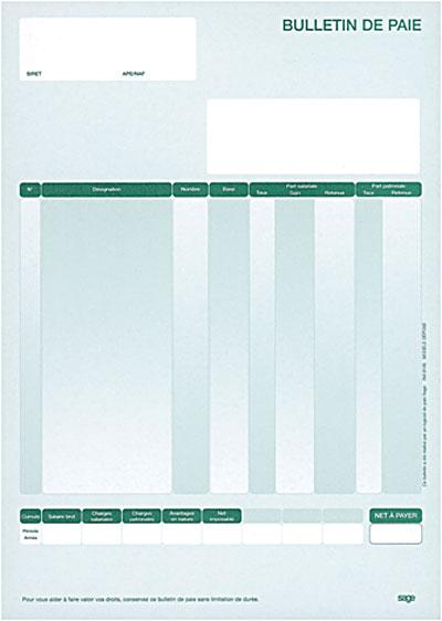 Bekannt 400 bulletins de paye vierge - DVD-ROM - Achat & prix | fnac CP33