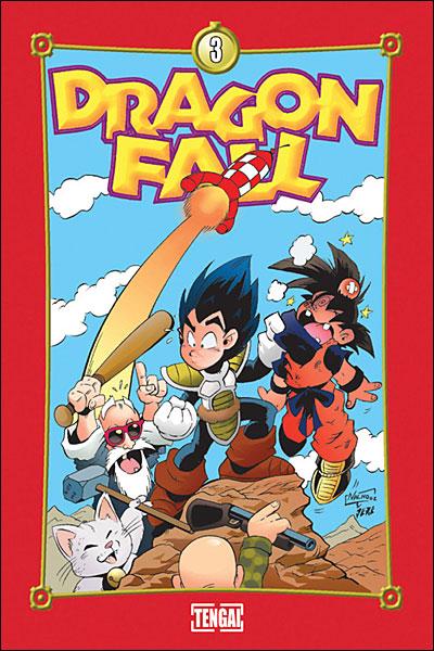 Dragon fall - Tome 3 : C'est la zone