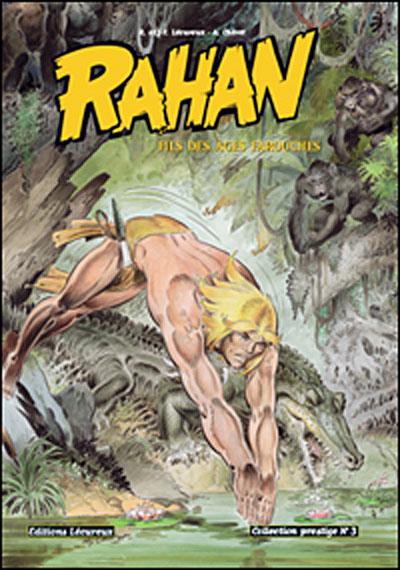 Rahan - Fils des âges farouches T3 (N&B)