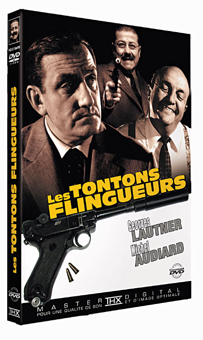 Super Les Tontons flingueurs DVD - DVD Zone 2 - Georges Lautner - Lino  WE45