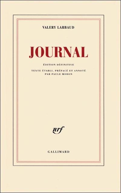 Journal édition définitive