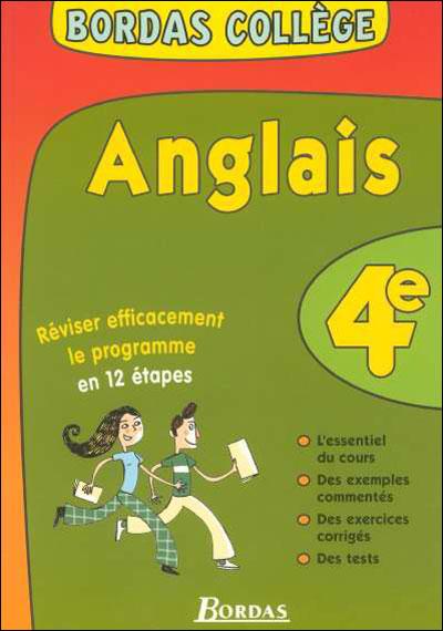 Anglais 4ème LV1
