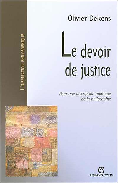 Le devoir de justice