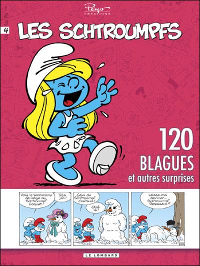 Schtroumpfs (120 Blagues) - Tome 4 - 120 blagues et autres surprises