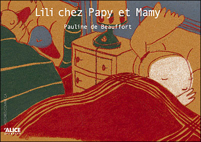 Lily chez Papy et Mamy