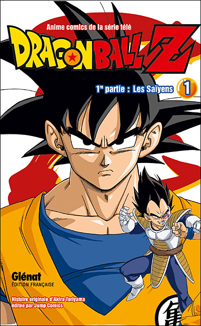 dragon ball z manga 1