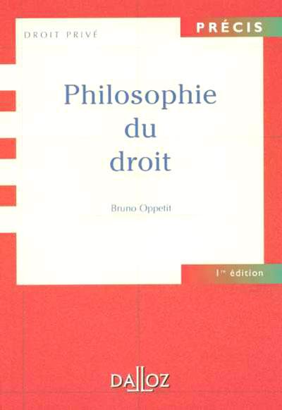 Philosophie du droit - 1ère éd.