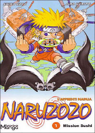Naruzozo - Tome 1 : Mission sushi