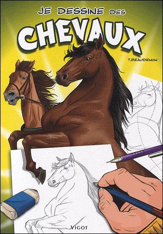 Je dessine des chevaux