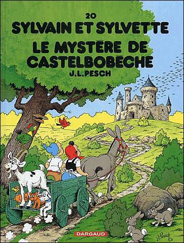 Sylvain et Sylvette - Le Mystère de Castelbobêche