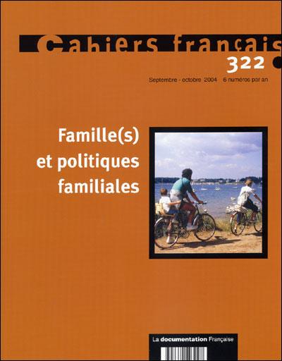 Familles et politique familiale