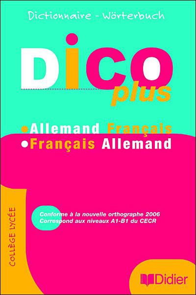 Dicoplus dictionnaire bilingue - Livre