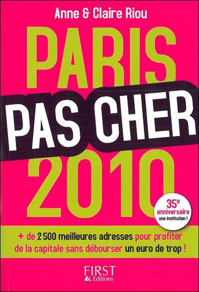 Paris pas cher 2010