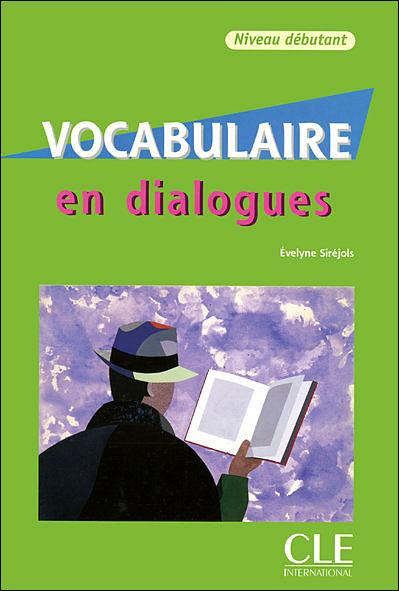 En dialogues Vocabulaire FLE niveau débutant+CD 2ème ED.