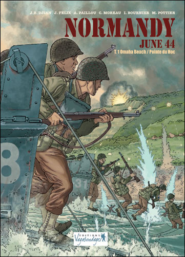 Normandy, June 44 - Tome 1 : Omaha Beach, pointe du Hoc