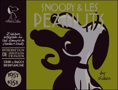 Snoopy - Intégrales - Snoopy et les Peanuts - Intégrale - tome 4 (1957-1958)