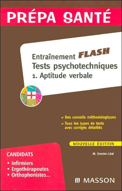 Flash tests d'aptitude verbale concours paramédicaux