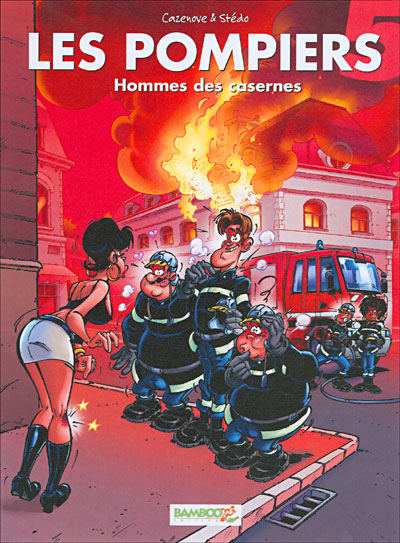 Les Pompiers - Homme des casernes