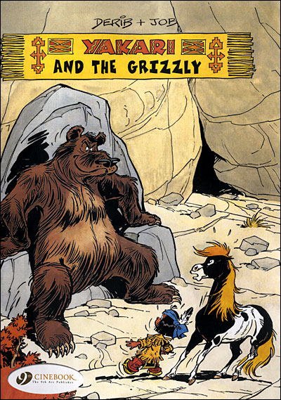 Yakari - tome 4 And the Grizzly