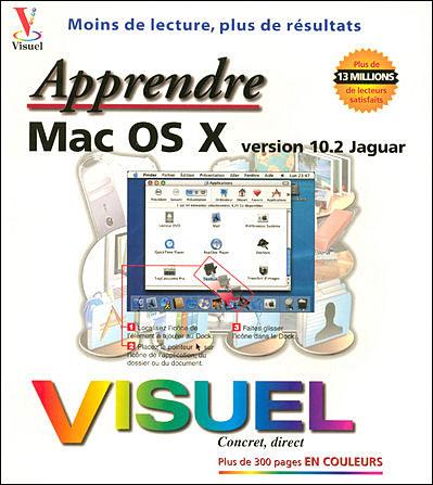 Apprendre Mac OS X, version 10.2 Jaguar