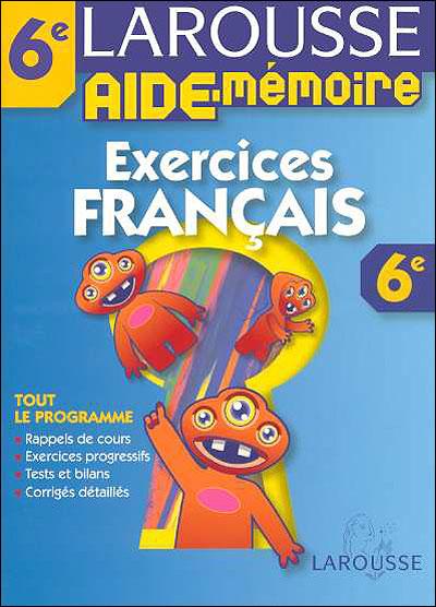 Mes exercices de Français 6ème