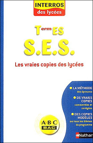Interros lycees s.e.s term es