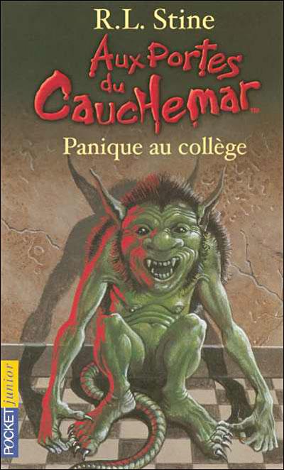 Aux Portes Du Cauchemar Tome 11 Panique Au College