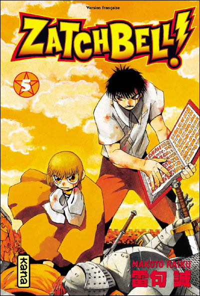 Zatchbell ! - Tome 5 : Zatchbell