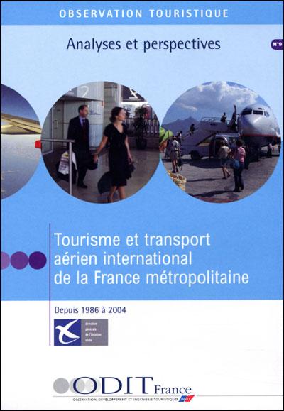 Tourisme et transport aerien international de la france metr
