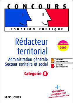 Rédacteur territorial catégorie B