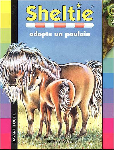 SOS animaux spécial poneys -  : Sheltie adopte un poulain