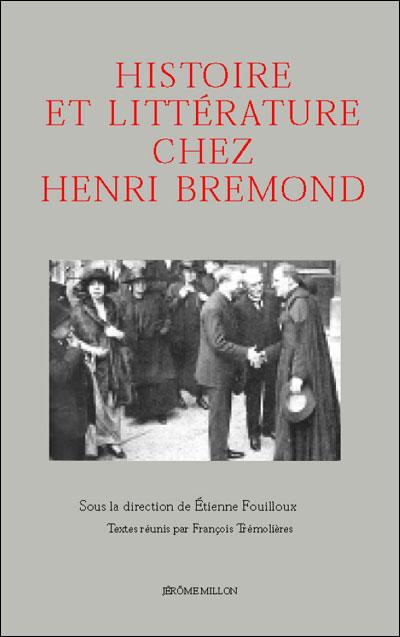 Histoire et litterature chez henri bremond