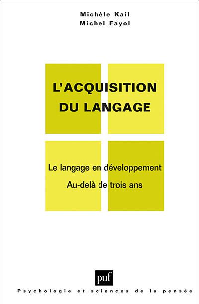 Acquisition du langage