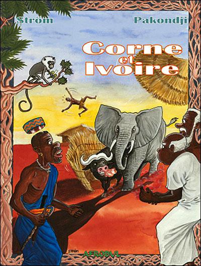 Corne et ivoire