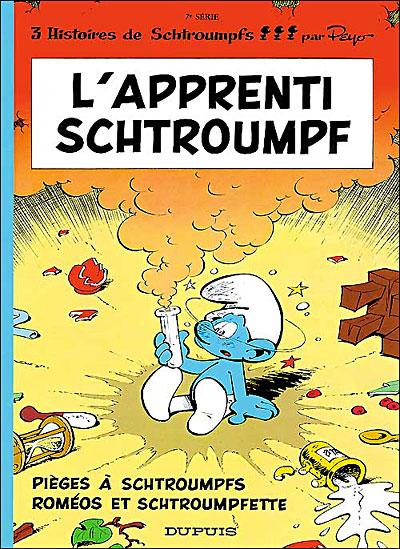 L'Apprenti schtroumpf - tome 7 - Les Schtroumpfs