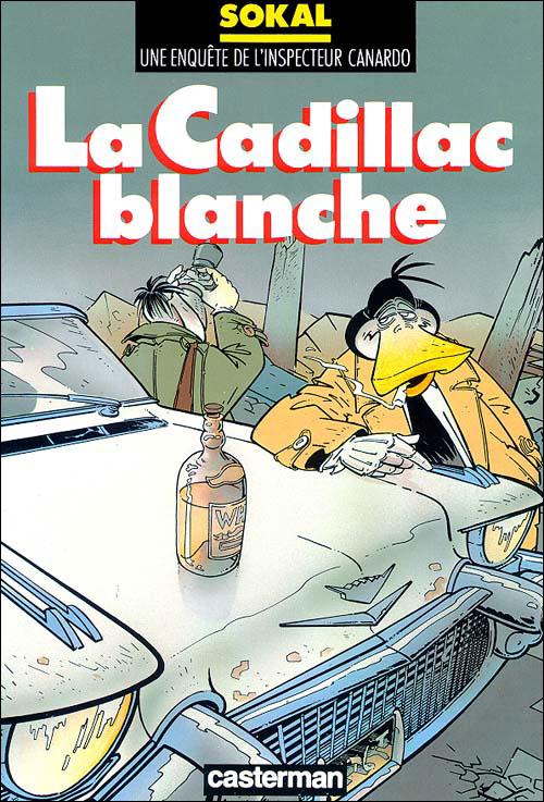 La Cadillac blanche
