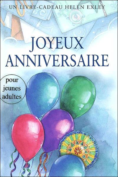 Joyeux anniversaire - adulte - nlle edition