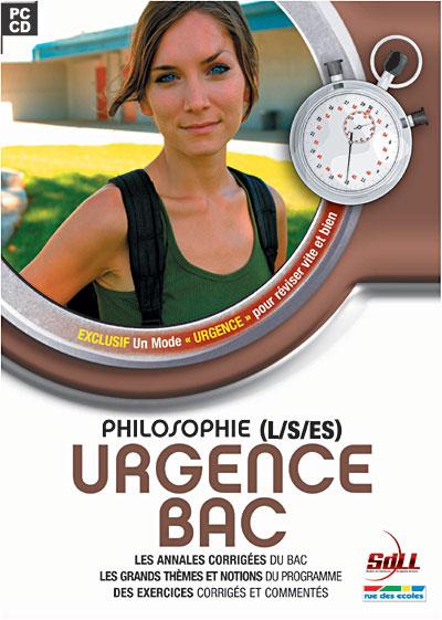 photo Sdll [société De Distribution De Logiciels De Loisirs] Urgence Bac Philosophie - L / S / ES 2007