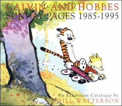 Calvin et Hobbes - Sunday Pages 1985-1995 : Calvin and Hobbes