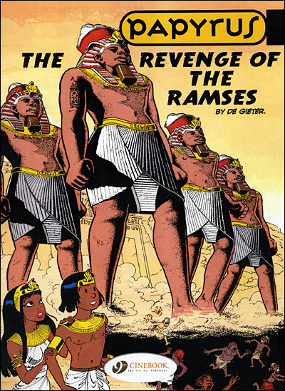 Papyrus - tome 1 The Ramses' Revenge