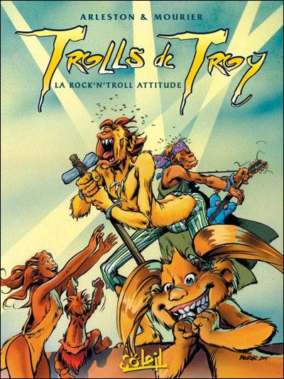 Trolls de Troy - T08 Rock'n Roll attitude *Edition N&B*